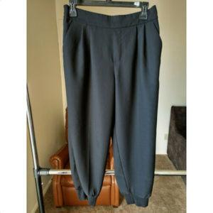 GAP WOMENS SIZE M black joggers pants